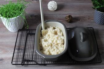 Reis aus dem Ofen, Ofenreis im Ofenmeister oder kleinen Zaubermeister Lily aus dem Pampered Chef Onlineshop bestellen