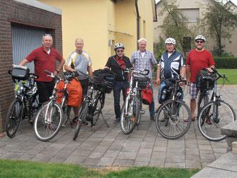 Radtour Tennisherren nach Celle /Eschede