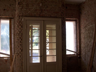 Eingang des Gutshauses