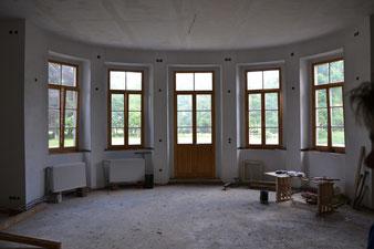 Ballsaal Renovierungsphase