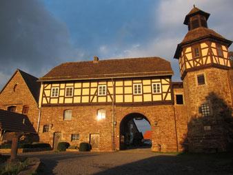 Castle in Wülmersen, Reinhardswald