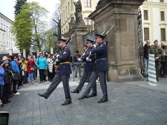 プラハ城 憲兵交代式