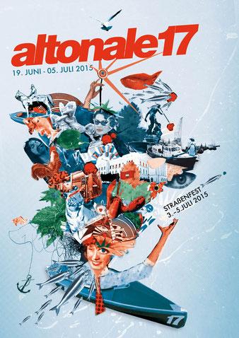 altonale Kulturfestival Hamburg Altona / Plakat Wettbewerb