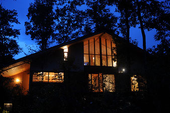 住まい塾 那須の舎 大屋根 大きな窓