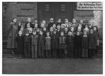 Klasse 2a, Frühjahr 1952