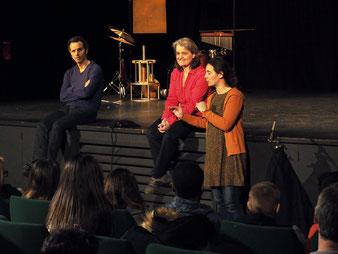 Benoît Cassard, Virginie Dupressoir et Juliane Stern