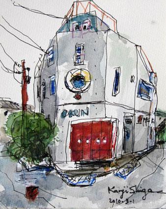 茅ヶ崎市・サザン通りのモダンな家