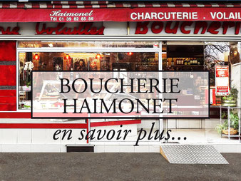 Boucherie Traditionnelle HAIMONET Bezons
