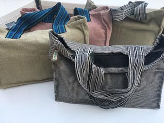 Bolsa playa maxi, algodón