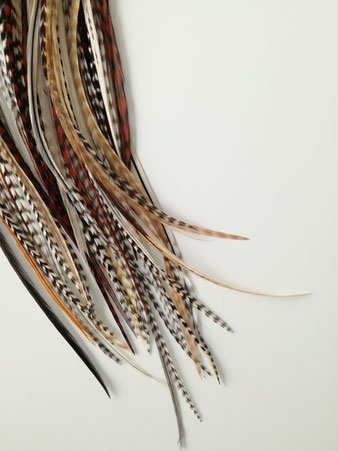 naturel ibiza hair feathers