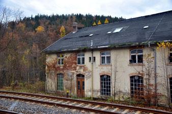 Schrott-Immobilie im Erzgebirge