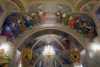 Роспись храма Софии Премудрости Божией