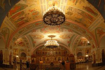 фреска, роспись храма Христа Спасителя, Преображенская церковь