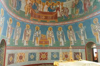 Роспись храма, фреска, мастерская Апостол
