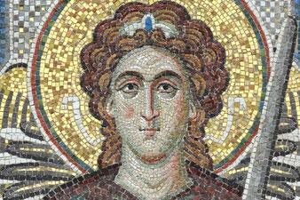 Мозаика Архангел Гавриил для храма Рождества Богородицы. Абрютинские Выселки