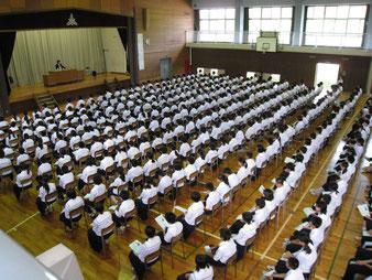 福島市立中学校「教育講演会」