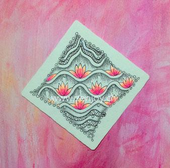 Namaste pattern by Zenjoy