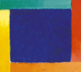 """Heinz Mack, """"ohne Titel"""", 2013, 64 x 72 cm, Acryl auf Leinwand"""