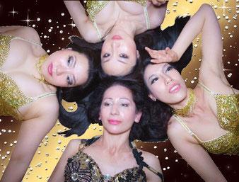 札幌ベリーダンススタジオ・ジャスミンショーメンバー