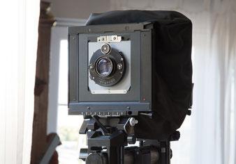 Großformatfotografie: Heliar 4.5 / 15 cm auf der Sinar F. Foto: bonnescape.de