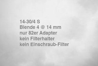 NIKON Z7 mit Z 14-30 mm 1:4 S, Vignettierung. Foto: bonnescape.de