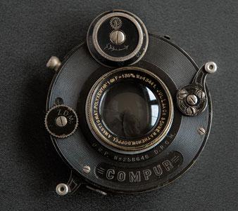 Polyxentar 6.8/135 mm im Compur-Verschluss, Foto: bonnescape.de