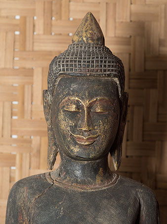 Nahaufnahme Buddha, Nikon SB-800 mit Aurora Litebank Speedbounce 40, Foto: bonnescape