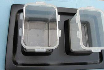 Posizionamento elettrodi dentro la vaschetta di sn.