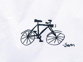 Zeichnung von Søren.