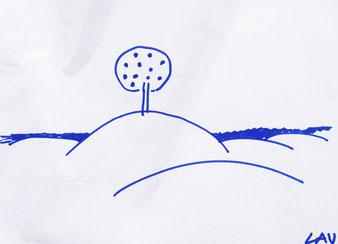 Zeichnung von Lau.