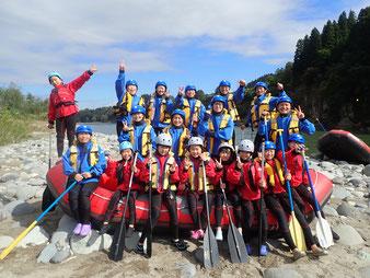 2021年10月24日AM信濃川ラフティングツアー写真プレビュー【日本アウトドアサービス】