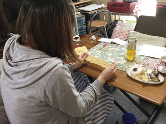 あみ~ちぇ自宅教室 レッスン風景