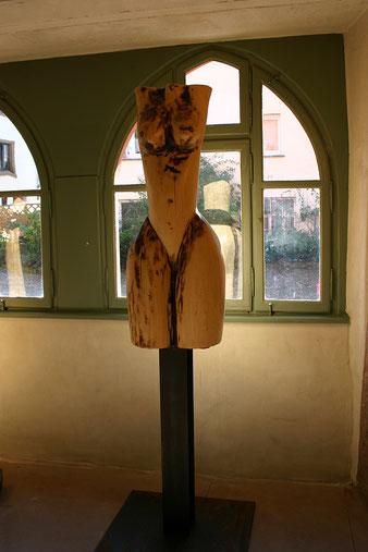 holzskulptur, akt, kirschbaum, gunnar mozer