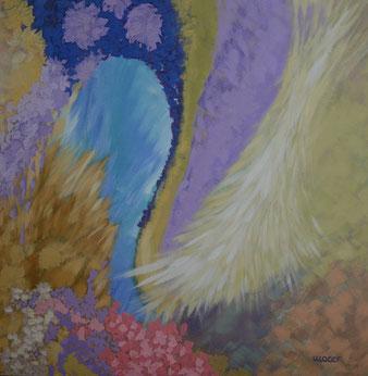 acrylbild, abstrakt, gunnar mozer