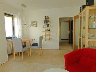 aus diesem Wangerooge Appartement haben sie einen fantastischen Nordseeblick und Strandblick