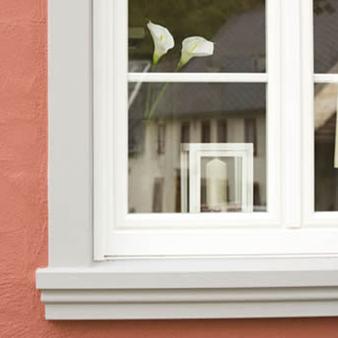 Fassadenstuck - Rahmenprofile, Fensterbänke und Fensterrahmen