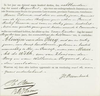 Overlijdensregister 1913, Bijzondere Strafgevangenis Leeuwarden