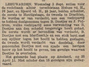 Nieuwsblad van Friesland : Hepkema's courant 29-08-1914