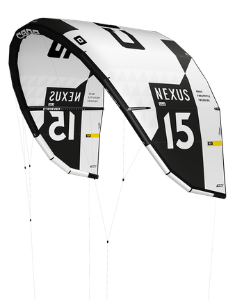 CORE Nexus 2 LW 15m², Nexus 2 Leichtwind Kite White