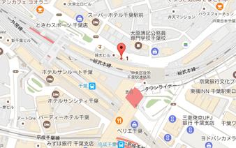 アートライブステージの地図