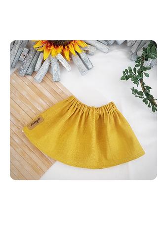 Mitwachsende Röcke aus Cordjersey in Petrol mit Paperbagbund und aus Baumwolljersey in mint mit Gummibund