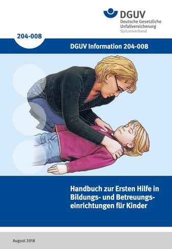 Titelbild Erste Hilfe für Kinder Handbuch