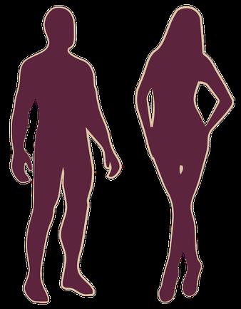 Epilvip epilazione laser, le zone dei trattamenti