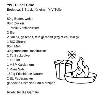 YIV Rüebli Cake
