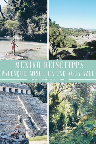 Hier findest du die schönsten Mexiko Reiseziele und Sehenswürdigkeiten. Erkunde die Maya Ruinen von Palenque und starte in dein Dschungel Abenteuer. Ein absoluter Geheimtipp sind außerdem die Wasserfälle Misol-Ha und Cascades de Agua Azul. Plane jetzt dei