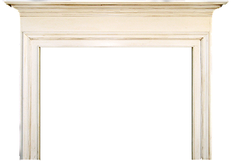 Columbus' Fulton Wood Fireplace Mantel