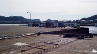 釣り場 宇久井漁港