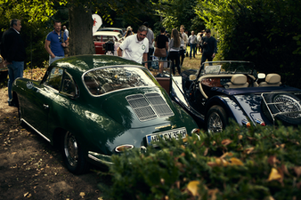 Nostalgische Fahrzeuge im Randel Park