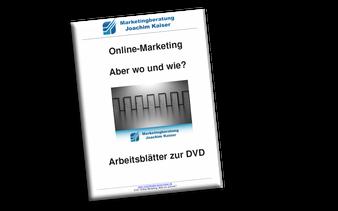 Online Marketing DVD Kurs Arbeitsheft