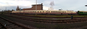 VT 18.16 ab 1970 Baureihe 175, Bauart Görlitz. Im Eisenbahnmuseum Chemnitz Hilbersdorf